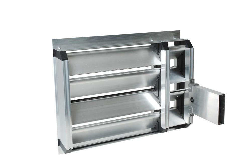 Алюминиевый воздушный клапан для теплообменников