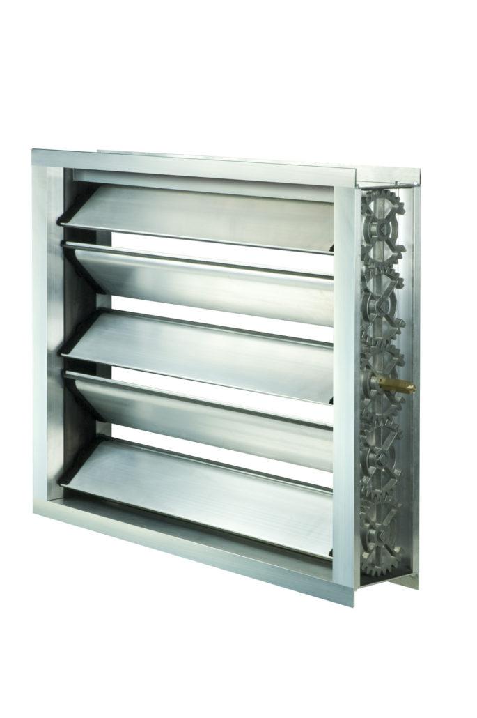 Алюминиевый воздушный клапан повышенной плотности «Класс 4»