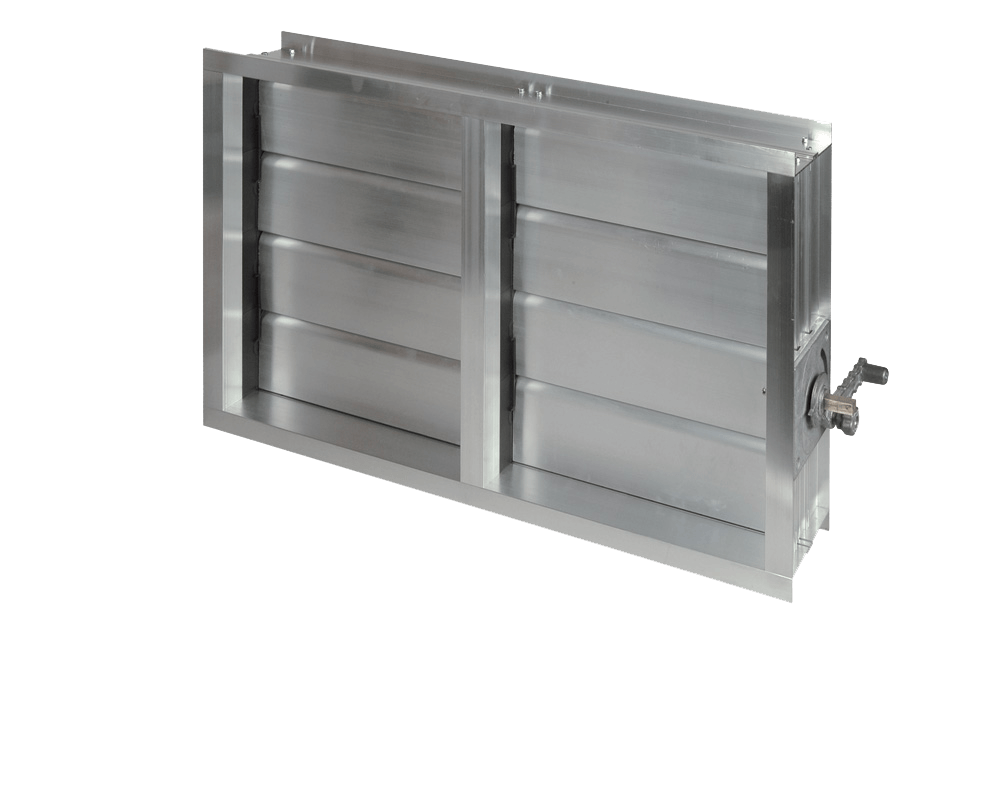 Алюминиевый  воздушный клапан АВК